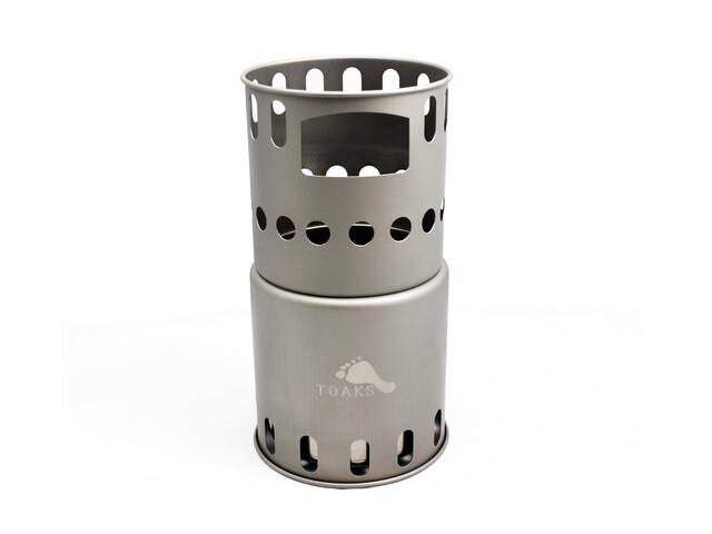 Toaks Titanium Backpacking Wood Friluftskök silver